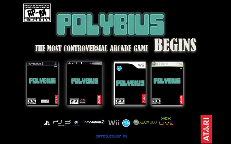 POLYBIUS INTERNET MYTHS HISTORY HORROR WEBSITE UK Picture