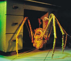 THE THING SPIDER HEAD HORROR REVIEW