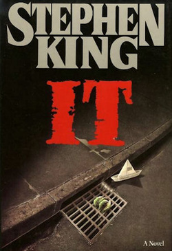 US COVER OF STEPHEN KINGS IT