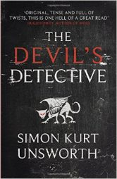 THE DEVIL'S DECTECTIVE BY SIMON KURT UNSWORTH BOOK REVIEW COVER