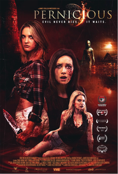 PERNICIOUS HORROR MOVIEW REVIEW POSTER