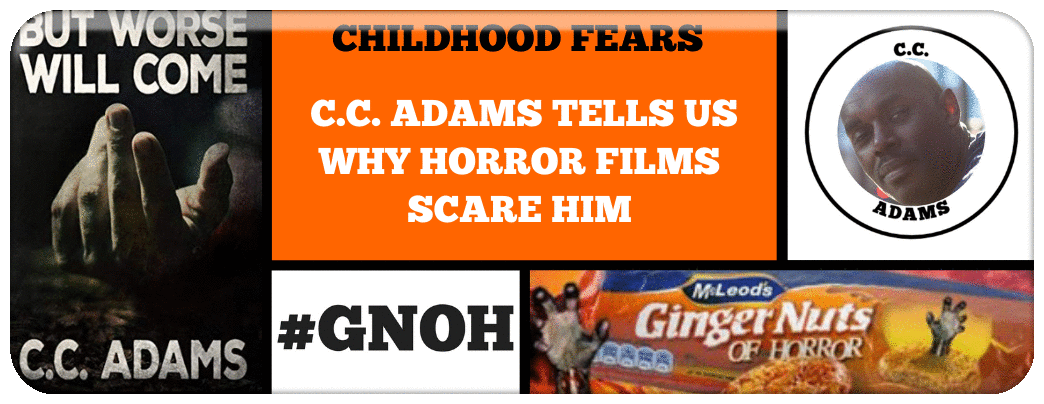 ​C.C. ADAMS TELLS US ABOUT HIS CHILDHOOD FEARS