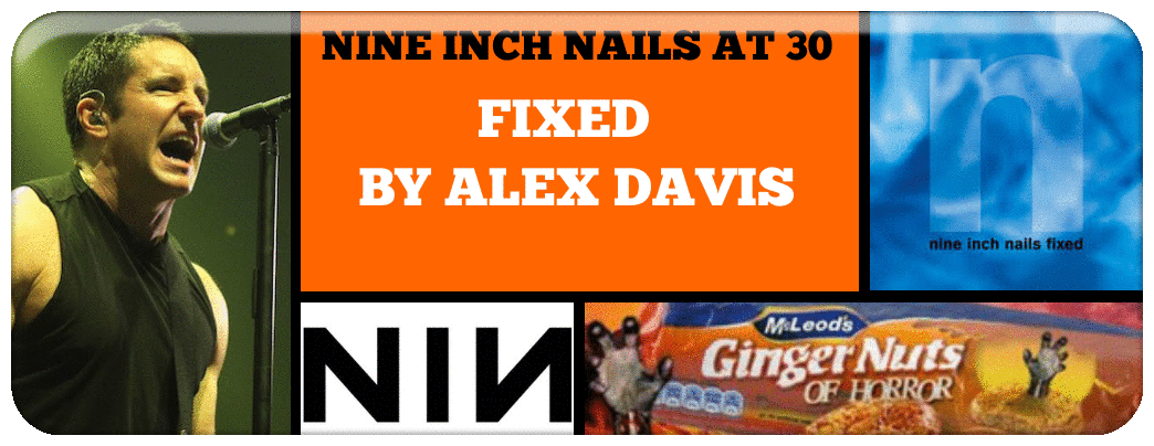 NINE INCH NAILS AT 30 FIXED BY ALEX DAVIS
