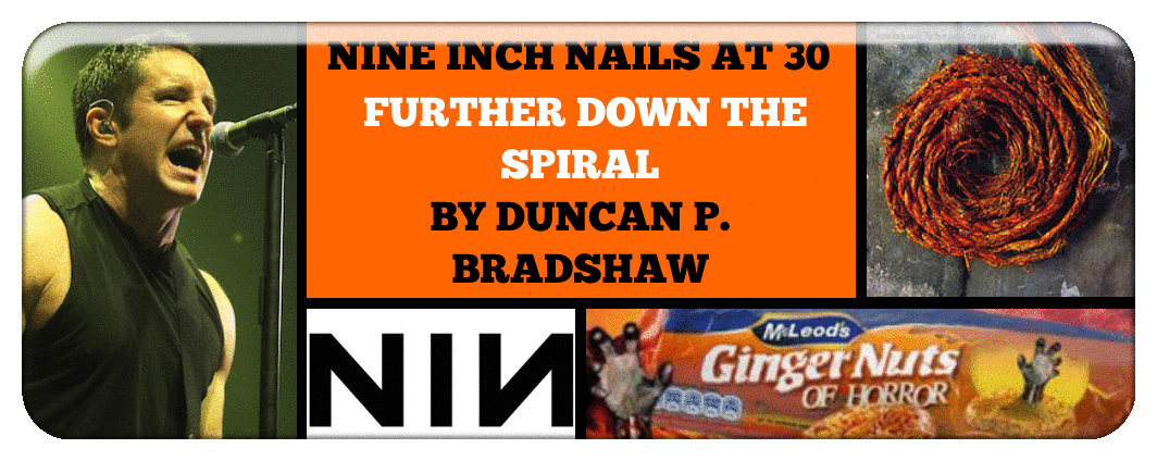 NINE INCH NAILS AT 30- FURTHER DOWN THE SPIRAL BY DUNCAN P. BRADSHAW