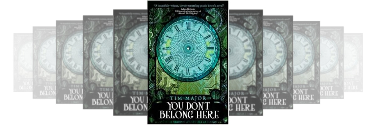 You don't belong here tim major book review